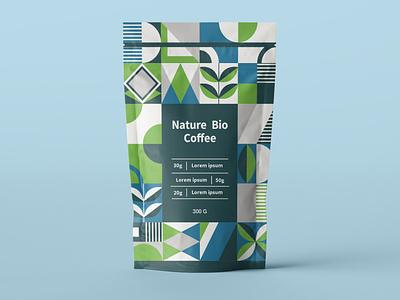 Package Design Bio Coffee minimal coffee typography modern designer design creativity creative packing design package packaging packaging design package design
