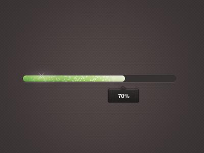 Progress bar progress bar tooltip loading green shiny