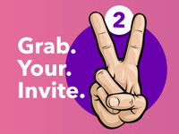 Two Dribbble Invites (CLOSED)