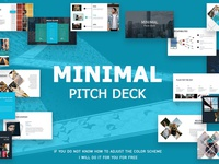 Minimal Pitch Deck + Free version