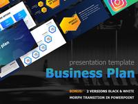 Business Plan Presentation template + Free version
