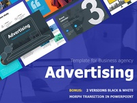 Advertising Template for Business agency