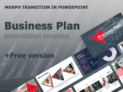 Business Plan Presentation Template +Free version