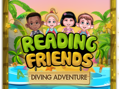 """""""Reading Friends"""" Diving adventure A to Z"""