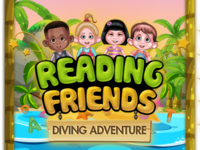 """Reading Friends"" Diving adventure A to Z"