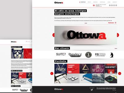Ottowa - Responsive, Minimal, Professional HTML Template