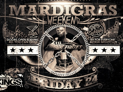 MardiGras Flyer v.2 -PSD-