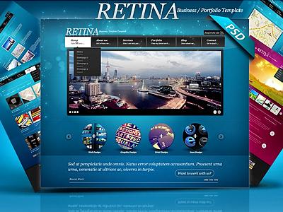 Retina - Multipurpose PSD Template