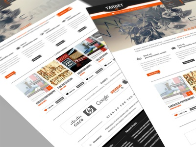Target15 - Retina Ready PSD Theme (Homepage Layout)