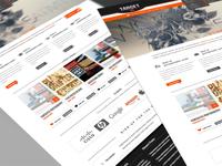 Target15 - Retina Ready PSD Theme (Homepage Layout)