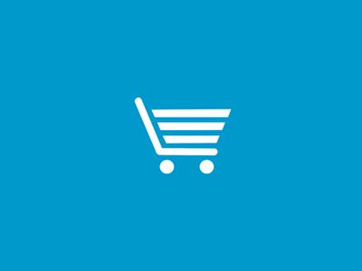 Cyankart Logo identity cart shopping logo