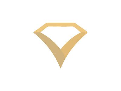 Crink Jewel Logo diamond stone brand identity logo jewelry
