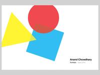 [WIP] Portfolio Cover