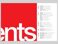 [WIP] Portfolio Contents