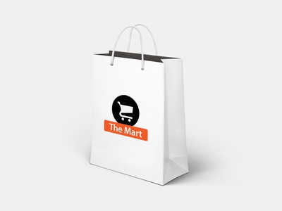 The Mart Identity mockup identity cart shopping
