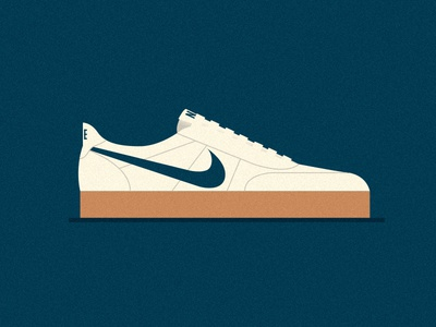 TEN & HALF leather sneakers canvas nike shoes