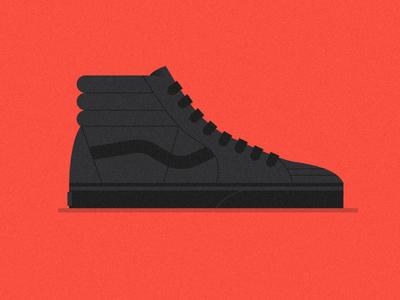 TEN & HALF vans sneakers skate shoes canvas