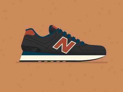 TEN & HALF tennis shoes sneakers shoes new balance leather