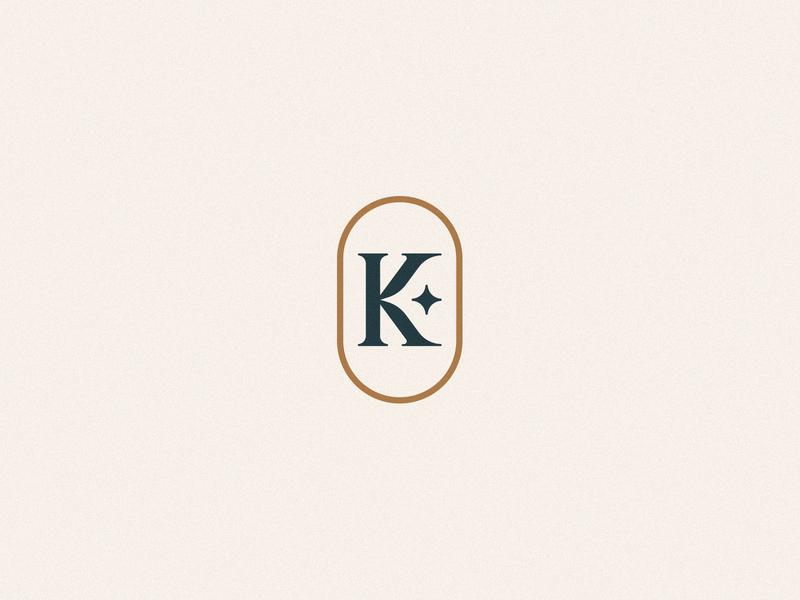 KSTAR typography icon branding flat minimal design identity modern logo