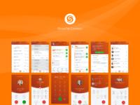 Shoretel connect mobile screens