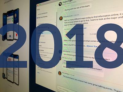 2018 - That's a Wrap! mitel mobile app desktop app icons ui voip