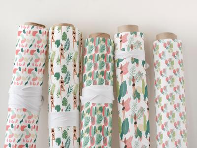 Jungle girl pattern