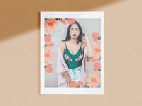 Magazine Cover magnolias design