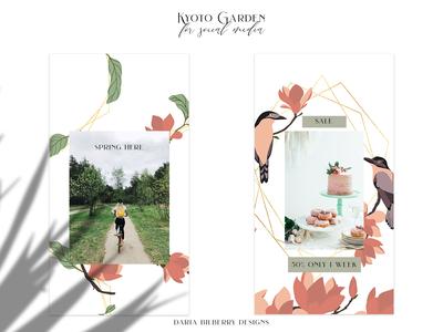 Kyoto Garden social media