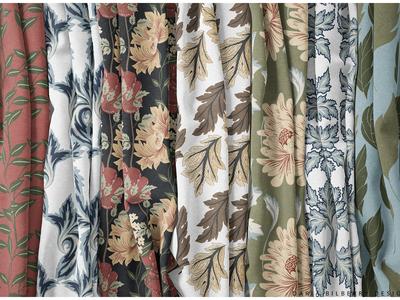 Morris Grace seamless pattern