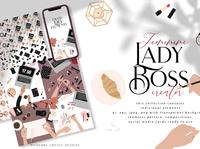 Feminine Lady Boss