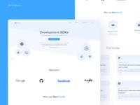 DevGuard Landing Page