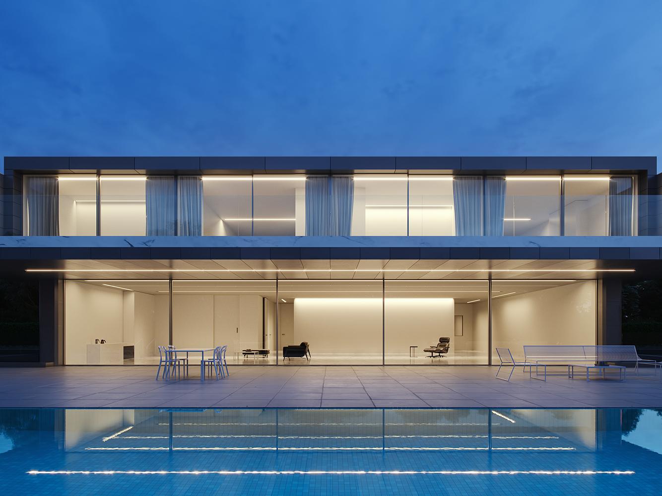 La Casa del Aluminio design archviz architecture visualization coronarender cg art cg cgi render build exterior design exterior