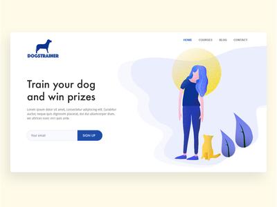 Dog training UI