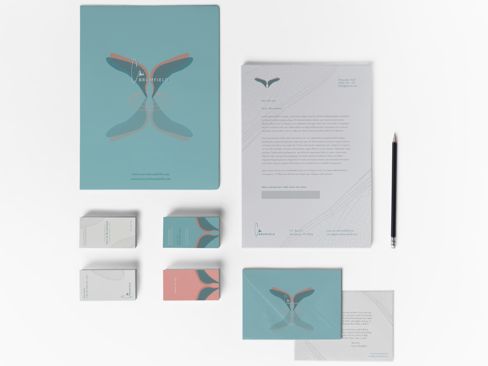 Carrie Brumfield Brand Overview branding visual design