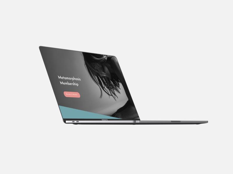 Carrie Brumfield Website Design branding visual design website design