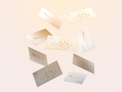Stacey L Tucker visual design business cards branding