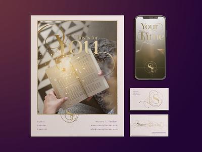 Stacey Tucker Brand Overview branding design graphic design visual design logo design