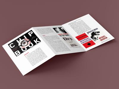 Chip Kidd Brochure