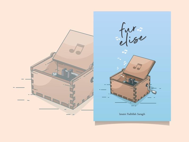 Fur Elise Cover Book Design