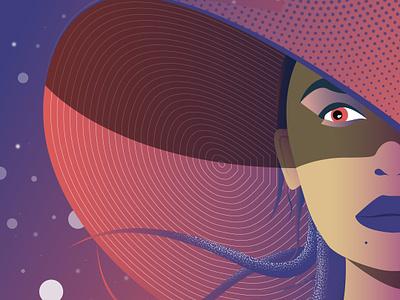 Modern Day Medusa dribbble flat illustrator design sketch draw vector illustration