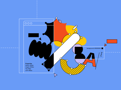 Embracing the tension between code and design design tools brand design systems figma graphicdesign illustration