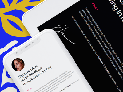 Penelope - Resume / CV / Personal Portfolio Template onepager portfolio site cv resume cv template creative design modern resume template design template clean bootstrap html5