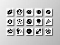 Sports Balls (Glyph)