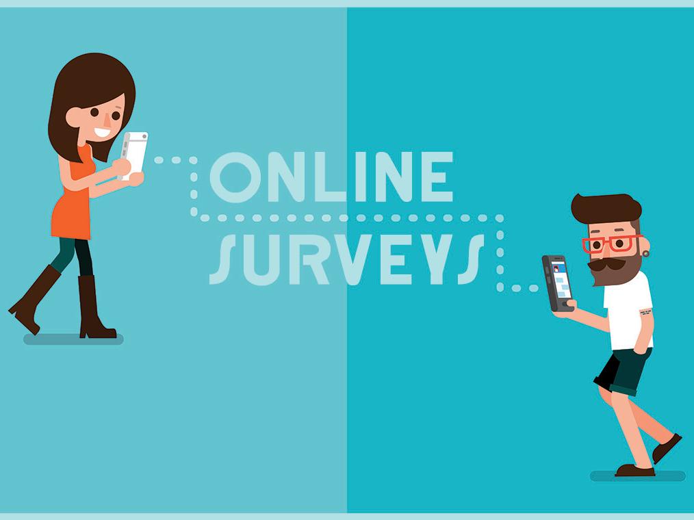 Online Surveys Mockup