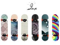 Vector skateboards