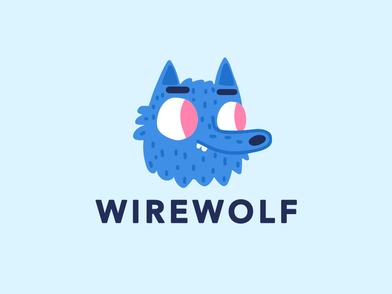 Dribbble mascot
