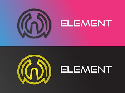 Element design icon startup vector illustration cloud future minimalist