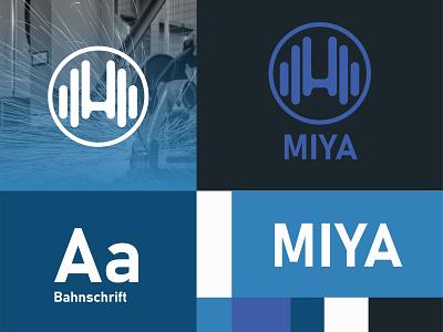 Miya Tukang Las logos icon cloud illustration logo vector minimalist future