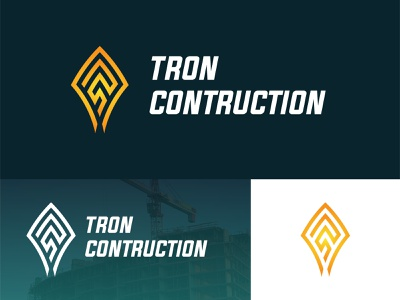 Tron future minimalist startup logo design cloud logo