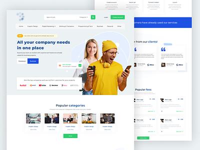 Hire Job – Freelance Services Marketplace for Businesses webdesign ux design graphics web design web ux design template ui design graphic design design